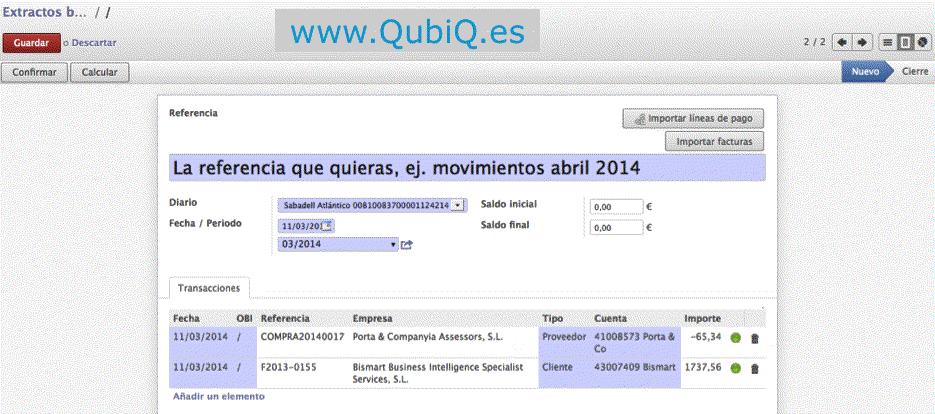 Manual de contabilidad para Odoo